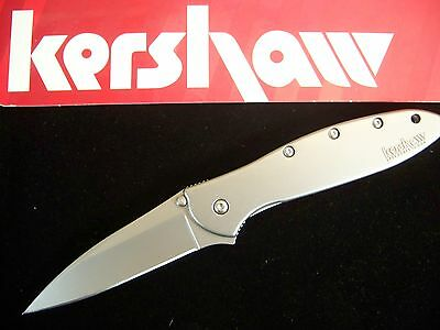 "KERSHAW ""USA"" - LEEK Assisted SPEEDSAFE Knife w/ SAFETY LOCK Ken Onion k ks 1660"