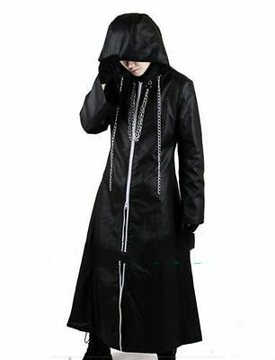 New Hot Sell Kingdom Hearts 2 Organization XIII Cosplay Costume