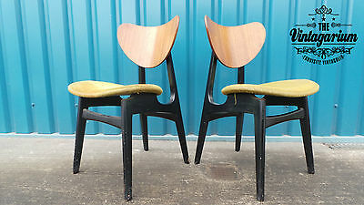 Pair of G Plan Butterfly Chairs - In Need of Refurbishment - See Description