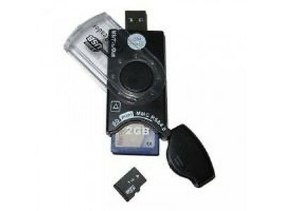 Dynamode USB-CR-31 USB Mobile SIM and Memory Card Reader