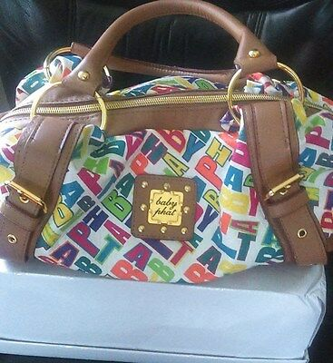 Baby Phat Really Cute Purse Multi Colored
