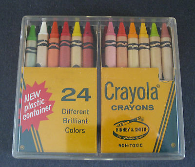 Vintage 1968-74 24P Crayola Crayons by Binney & Smith Co.