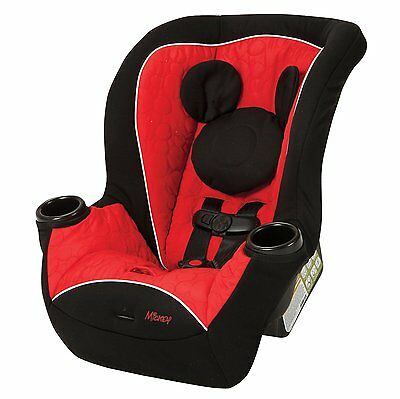 Disney APT Convertible Car Seat Mickey Mouse Infant Toddler Baby boys Safety NEW