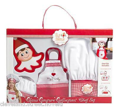 Elf on the Shelf Elf Claus Couture Collection: Chef Apron Set