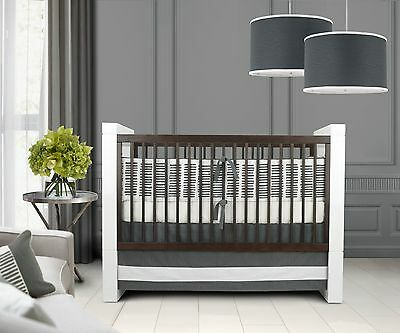 Brand new Oilo Sticks 3 Piece Crib Set $309.00 retail price! Luxury bedding