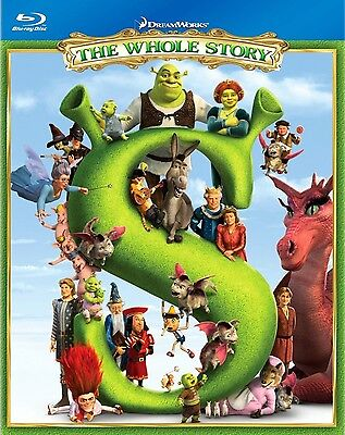 SHREK THE WHOLE STORY 4-Film BRAND NEW BLU-RAY BOX SET 1-4 2 Third Forever After