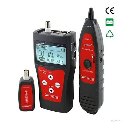 Multipurpose Network&LAN Cable Tester and hunter Cat 5-7 & ethernet NF300B
