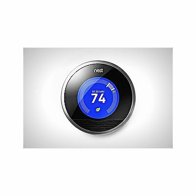Nest Learning Thermostat - 2nd Generation T2004477w. New Sealed