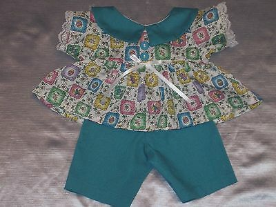 Cabbage Patch Handmade Doll Clothes Easter Play Set - Blouse & Pants