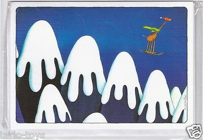 MORDILLO 1983 Top Gallery italy greeting card - biglietto auguri mint- montagne