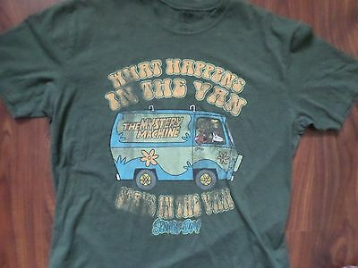 Men's Scooby Doo Mystery Van T Shirt Extra Large Super Fast Shipping
