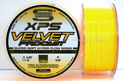 XPS pro velvet competition surf casting line from Trabucco 300/600m spools