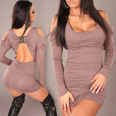 Nf125 Womens Mini Dress Club Wear Night Wear Party Evening Adult Outfit Sexy