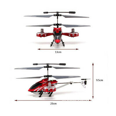 AVATAR Z008 4CH 2.4G Metal RC Remote Control Helicopter LED Light GYRO RTF Gift