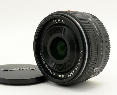 Panasonic Lumix G 14 mm F/2.5 Asph AF Lens H-H014 for Micro 4/3 from Japan