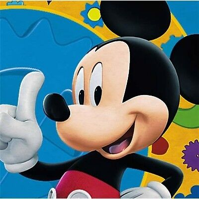 Disney Mickey Mouse Clubhouse Birthday Party Dessert Beverage Napkins NEW