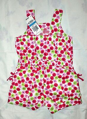 Baby Girl Pink Romper Flowers Floral Size 2T First Impressions