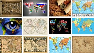 Map Of The World Old And New  Mouse Mat Mouse Pad