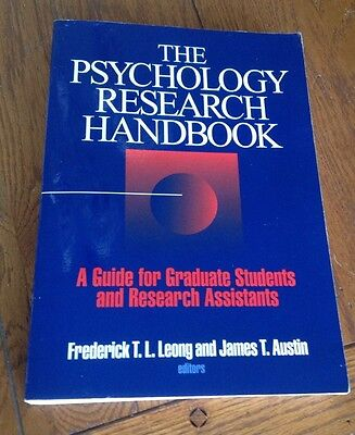 The Psychology Research Handbook : A Guide for Graduate Students Leong Austin