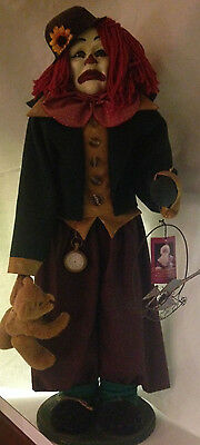 """Country Handworks Limited Edition Doll #406 """"Troubles"""" by Artist K.L. Haskell"""
