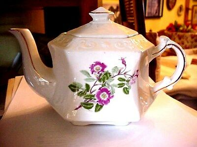 ELLGREAVE A DIV. OF WOOD & SONS ENGLAND IRONSTONE TEAPOT