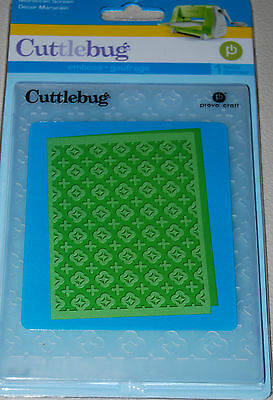 MOROCCAN SCREEN  A2 Embossing Folder For Cuttlebug Die Cut Embossing Machine NEW