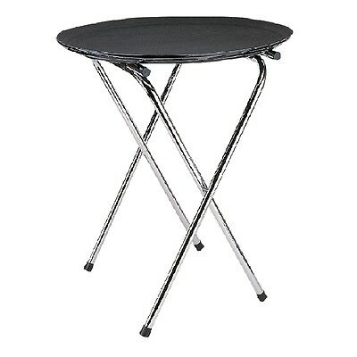 Chrome Folding Tray Stand for Large Trays for Bars/Restaurants. Stainless Steel