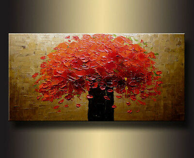 MODERN ABSTRACT HUGE CANVAS ART OIL PAINTING (NO FRAME) #001A