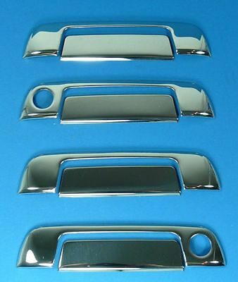 Compatible With Bmw E32 E34 E36 Door Handle Blinds Covers Chrome
