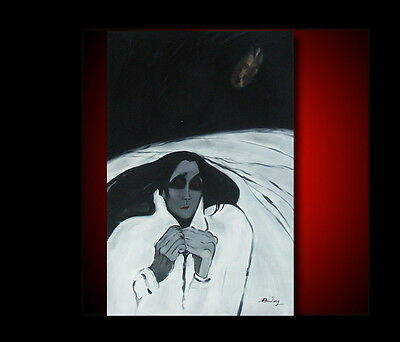 A FEAST OF BLOOD OF NIGHT GALLERY HAND OIL PAINTING