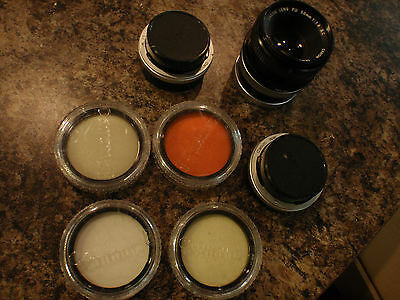 CANON 55MM AND 58MM FILTERS, M20 ADAPTERS AND FD 50MM 1:1.8 LENS 721793