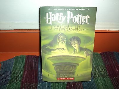 Harry Potter and the Half-Blood Prince Paperback Book