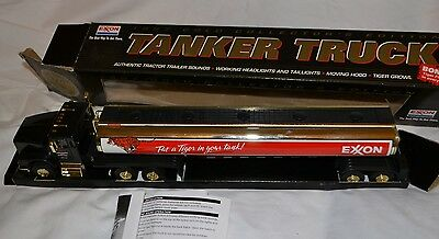 Exxon 1997 Gold Collector's Edition Toy Tanker Truck #10974  NIB w/Tiger