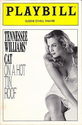 1990 Tennessee Williams CAT ON A HOT TIN ROOF Playbill