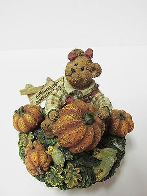 "Boyds #651221 LARGE Candle Topper ""Aubrey...Autumfest"" MINT Brand New in Box"