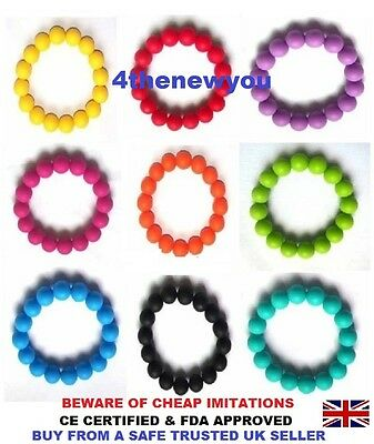 Chewy Bracelet Chewelry Autism ADHD Biting Sensory Chew Childrens Teething Toy