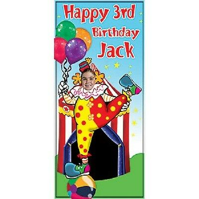 CLOWN PHOTO STAND-IN * party decoration * birthday * circus / carnival theme