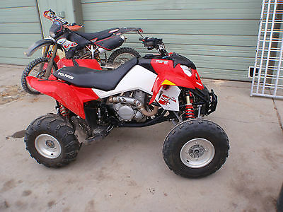 2008 Polaris Outlaw 525IRS 525 KTM FAST SPORT QUAD WITH INDEPENDANT REAR