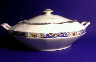 Rare Edwin M. Knowles Serving Casserole Dish with Lid, marked 30-2-1