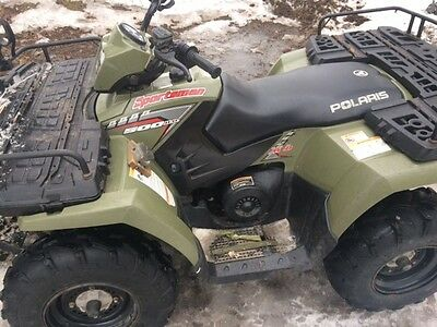 2005 polaris sportsman 500 ho with trailer