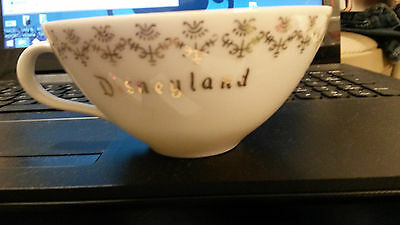 1960's Walt Disney Disneyland Cup with green triangle logo