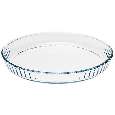 Pyrex Quiche Glass Dish-Suitable for conventional ovens/microwaves-27cm diameter