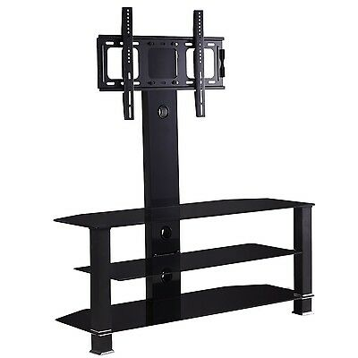Brand New Tempered Glass TV Stand with Bracket for 32 to 55 inches Plasma LCD TV