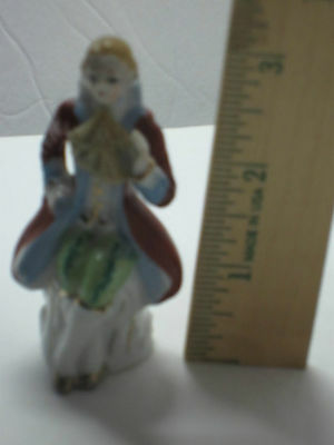 """3"""" Colonial Figurine Made in Japan"""
