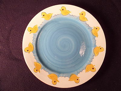 STANGL Little Quackers Plate USA 4046 PLATE RARE