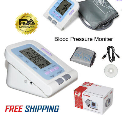 CONTEC08C  Digital Blood Pressure Monitor USB software, Optional SPO2 Probes buy