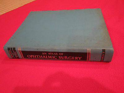 BOOK ATLAS OF OPHTHALMIC SURGERY BERENS KING