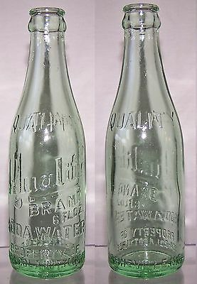 Vintage Quality Soda Water Coca-Cola Bottle Asheville NC Soda 6 OZ 1940's