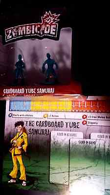 Cardboard Tube Samurai Zombicide special promo character exclusive!
