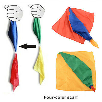 Change Color Silk Scarf For Magic Trick By Mr. Magic Joke Gift Randomly